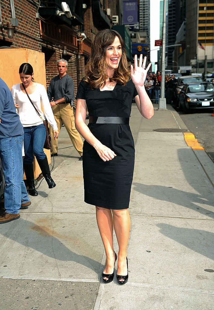 Jennifer Garner on The Late Show