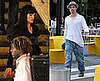 Photos of Angelina Jolie Filming Salt in NYC; Brad Pitt Running Errands in NYC