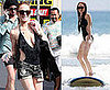 Photos of Lindsay Lohan and Ali Surfing in Hawaii