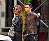 Photo of Orlando Bloom and Miranda Kerr Trying to Catch a Cab in NYC