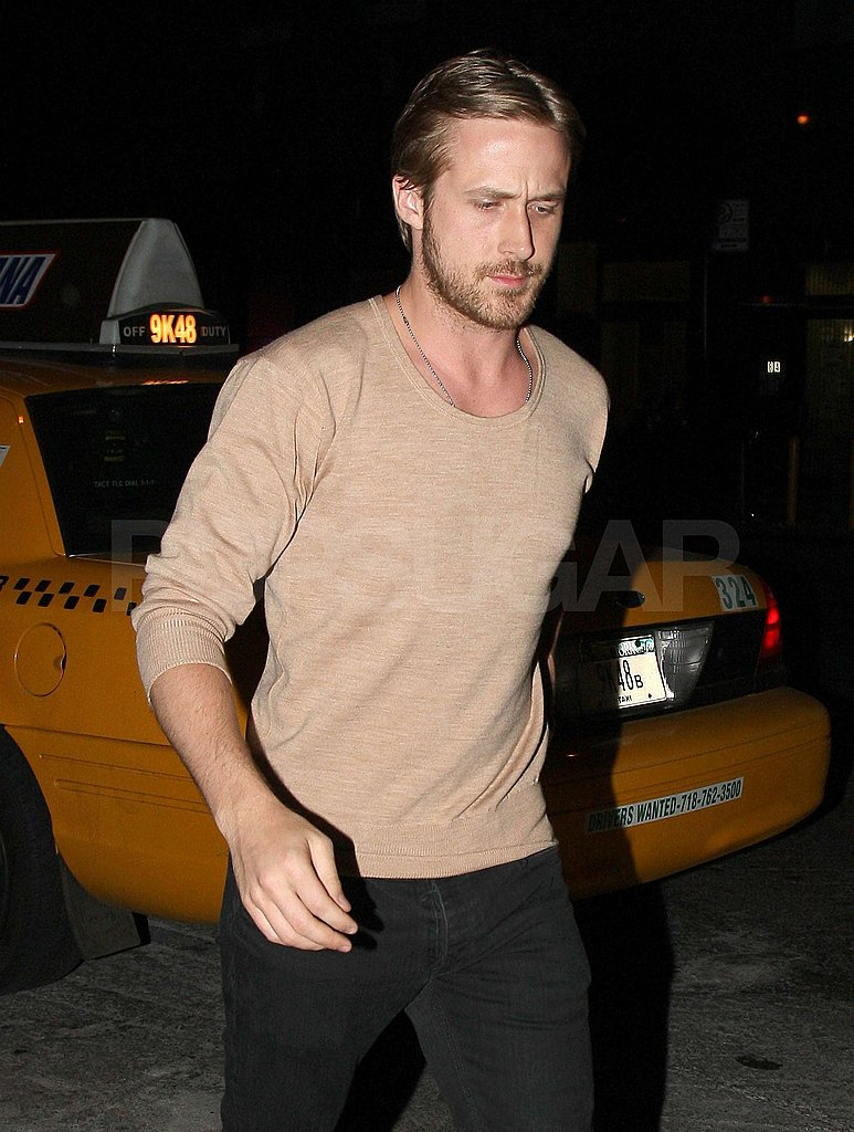 Ryan Gosling in the West Village