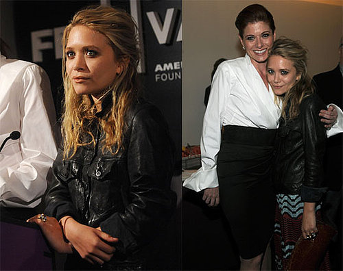 Photos of Mary-Kate Olsen and Debra Messing at the Tribeca Film Festival's Awards Night Party in NYC