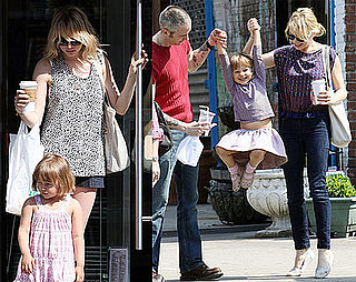 Photos of Michelle Williams and Matilda Ledger Out in Brooklyn Together