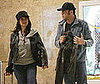 Photo of Penelope Cruz and Javier Bardem at the Airport in Madrid
