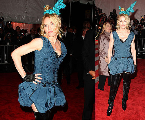 Photos of Madonna in Louis Vuitoon At 2009 Costume Institute Gala