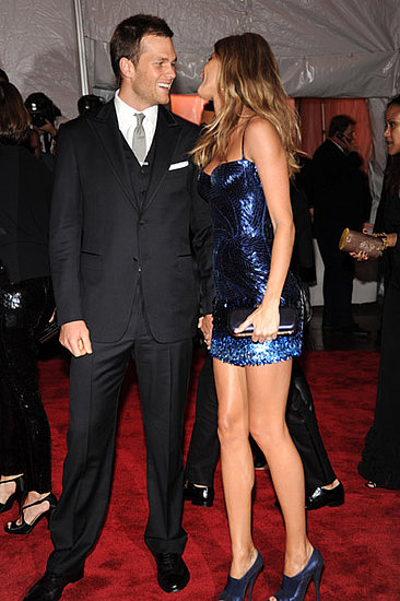 Tom and Gisele at the Costume Gala
