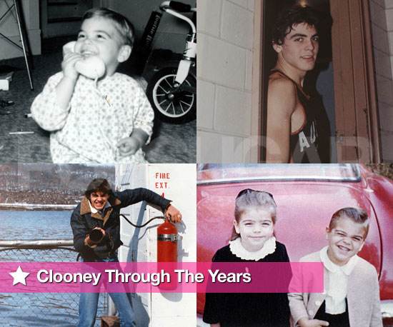 A Birthday Slideshow of George Clooney Through the Years
