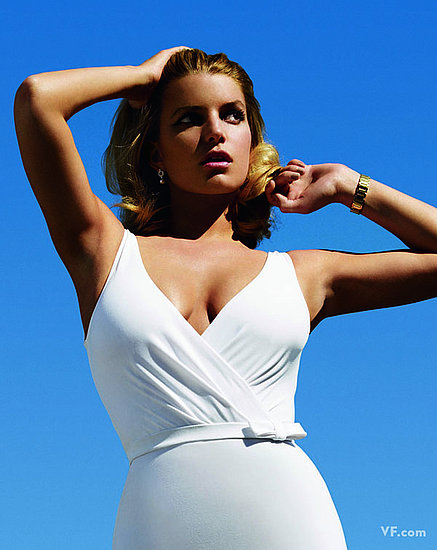Jessica Simpson in June 2009 Vanity Fair