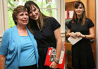 Photos of Jennifer Garner and Pat Garner at the 2009 State of the World's Mothers Report