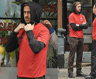 Photos of Ryan Gosling Filming Blue Valentine