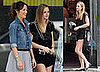 Photos of Leighton Meester and Minka Kelly Filming The Roommate in LA
