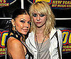 Slide Photo of Taylor Momsen and Fergie at Z100 Zootopia