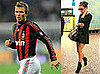 Beckhams in Milan