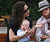 Photo of Minnie Driver with Son Henry Story Driver on Mother's Day