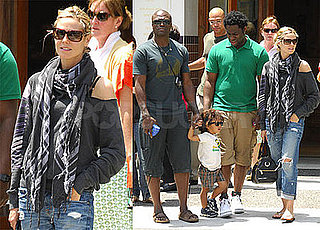 Heidi, Seal Take Fashion Cues From Their Cool Kid Johan