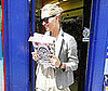 Photo of Kate Moss Buying Magazines in London