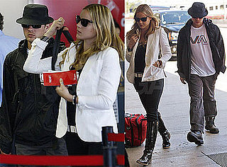 Photos of Ryan Phillippe and Abbie Cornish at LAX Together