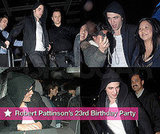 Robert Pattinson's 23rd Birthday Party in Vancouver With Kristen Stewart