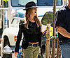 Photo Slide of Jennifer Aniston on the NYC Set of The Baster