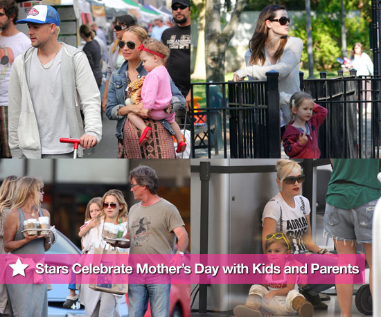 Photos of Kate Hudson, Gwen Stefani, Jessica Alba and Other Celebs on Mother's Day