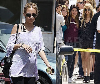 Photos of Pregnant Nicole Richie in LA