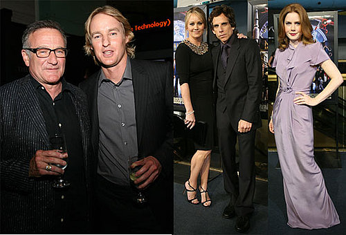 Photos of Robin Williams, Owen Wilson, Ben Stiller, Amy Adams at Premiere of Night at the Museum 2 in Washington DC