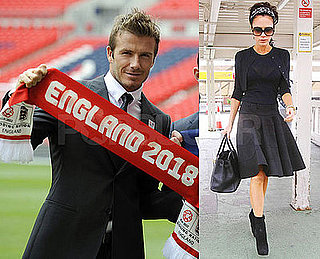 Photos of Victoria Beckham Departing Heathrow Airport