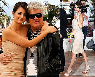 Photos of Penelope Cruz and Pedro Almodovar at 2009 Cannes Film Festival