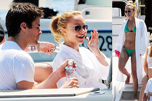 Bikini Photos of Hayden Panettiere With Steve Jones