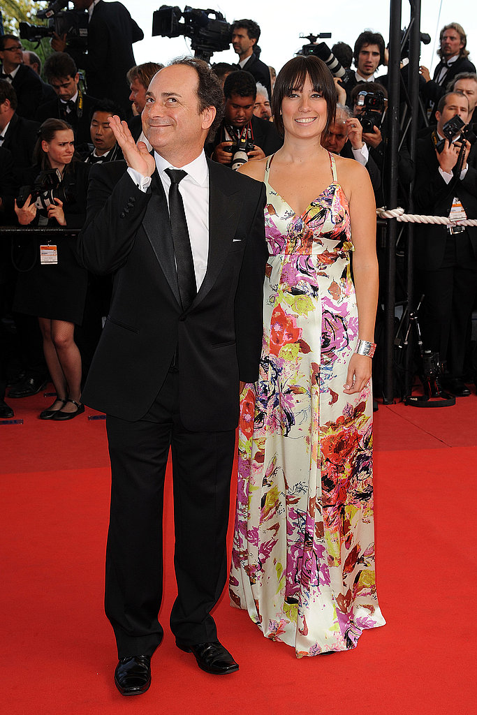 Angie and Brad in Cannes Looking Good