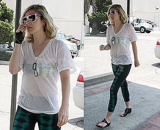 Photos of Drew Barrymore in a Unique Outfit in LA
