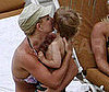 Slide Photo of Britney Spears Giving a Hug to Jayden James Spears Federline in the Bahamas