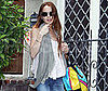 Photo Slide of Lindsay Lohan Leaving Samantha Ronson's After a Sleepover