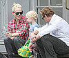 Photo Slide of Naomi Watts, Sasha Schreiber and Simon Baker in NYC