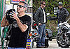 Photos of George Clooney and Rande Gerber Riding Motorcycles
