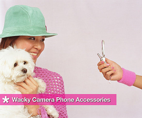 Four Wonderfully Wacky Camera Phone Accessories