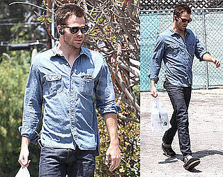 Photos of Chris Pine in LA 2009-05-27 14:00:53