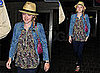 Dakota Fanning at LAX
