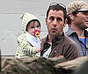 Slide Photo of Adam Sandler and Baby Sunny Sandler