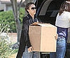 Photo Slide of Jessica Alba Moving Things in LA