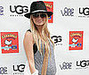 Photo slide of Nicole Richie at Kidstock Music and Art Festival in LA