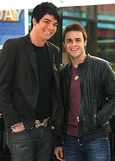 Kris Allen and Adam Lambert Photos on the Today Show