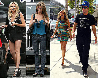 Photos of Stephanie Pratt, Audrina Patridge, Kristin Cavallari, Brody Jenner Filming The Hills