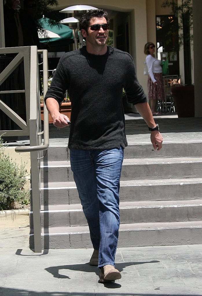 Patrick Dempsey on the Move