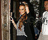 Photo of Lindsay Lohan Striking Pose as She Returns Home in LA
