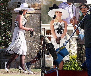 Photos of Britney Shooting Radar Video, Britney's Video Ad For Fake Fragrance Mo