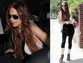 Photos of Lindsay Lohan in LA, Michael Lohan Saying She Has Another Chance