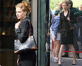 Photos of Nicole Kidman Filming Rabbit Hole, Denied Adoption Rumors