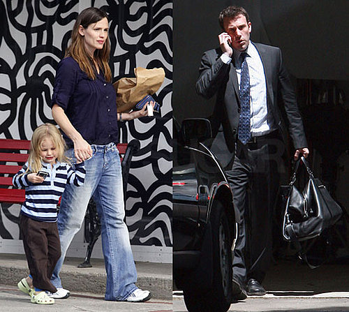 Photos of Jennifer Garner, Ben Affleck, Violet Affleck in Boston