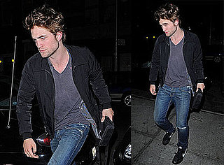 Photos of Robert Pattinson in NYC 2009-06-03 07:00:00